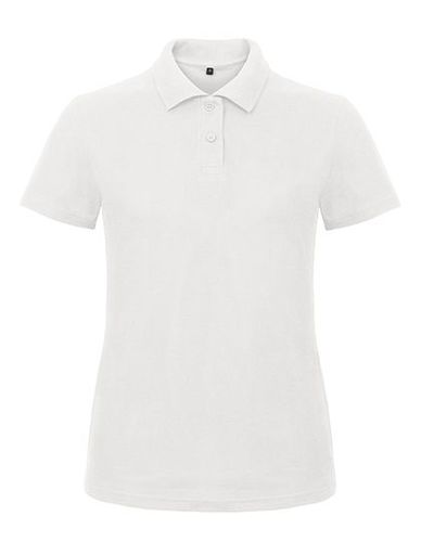 Polo ID.001 / Women 180 g/m² White